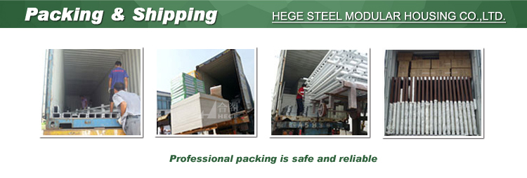 Prefabricated earthquake proof buildings
