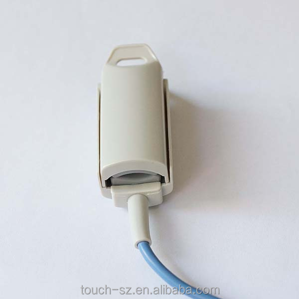 CSI 506 506DX Reusable Pediatric / adult Finger Clip SpO2 Sensor with 6pin 1m DB9 extension cable