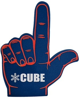 Eco-friendly Cheering Foam Finger Hand with Custom Logo