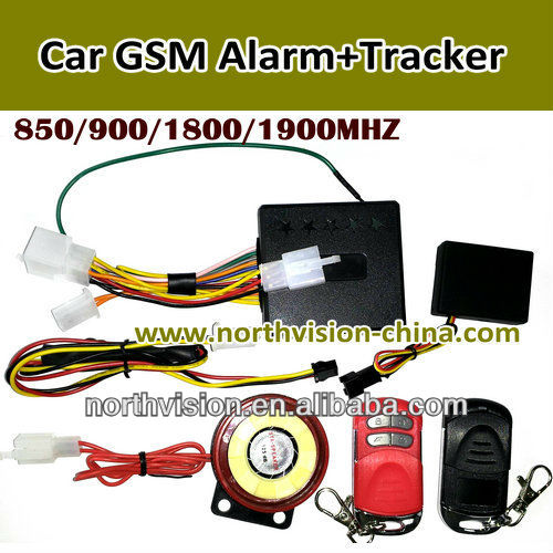 V10 gps tracking devices, 850/900/1800/1900MHz,lock vehicle, Remote ignition, with speaker