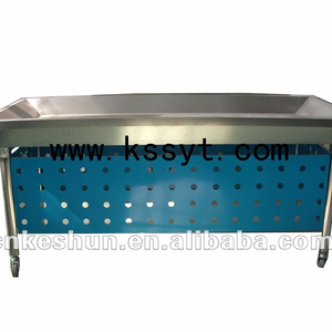 Stainless steel supermarket refrigerator/fish table/seafood display case for sale