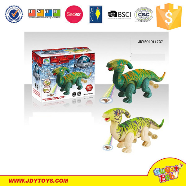 Battery Operated B/O Electric Dinosaur Plastic Toy