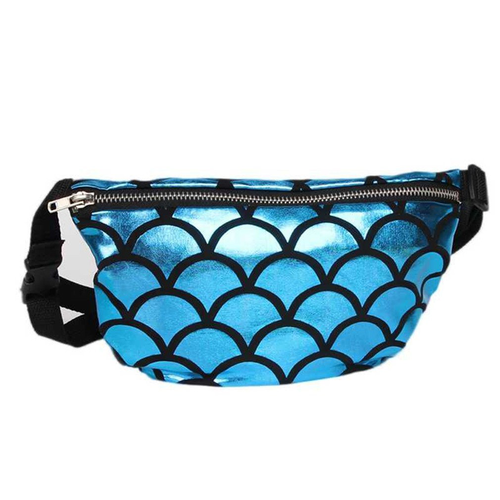 New Waist Bag Casual Waist Pack NEW Fashion Sequins Chest Bag Unisex Chest Bag