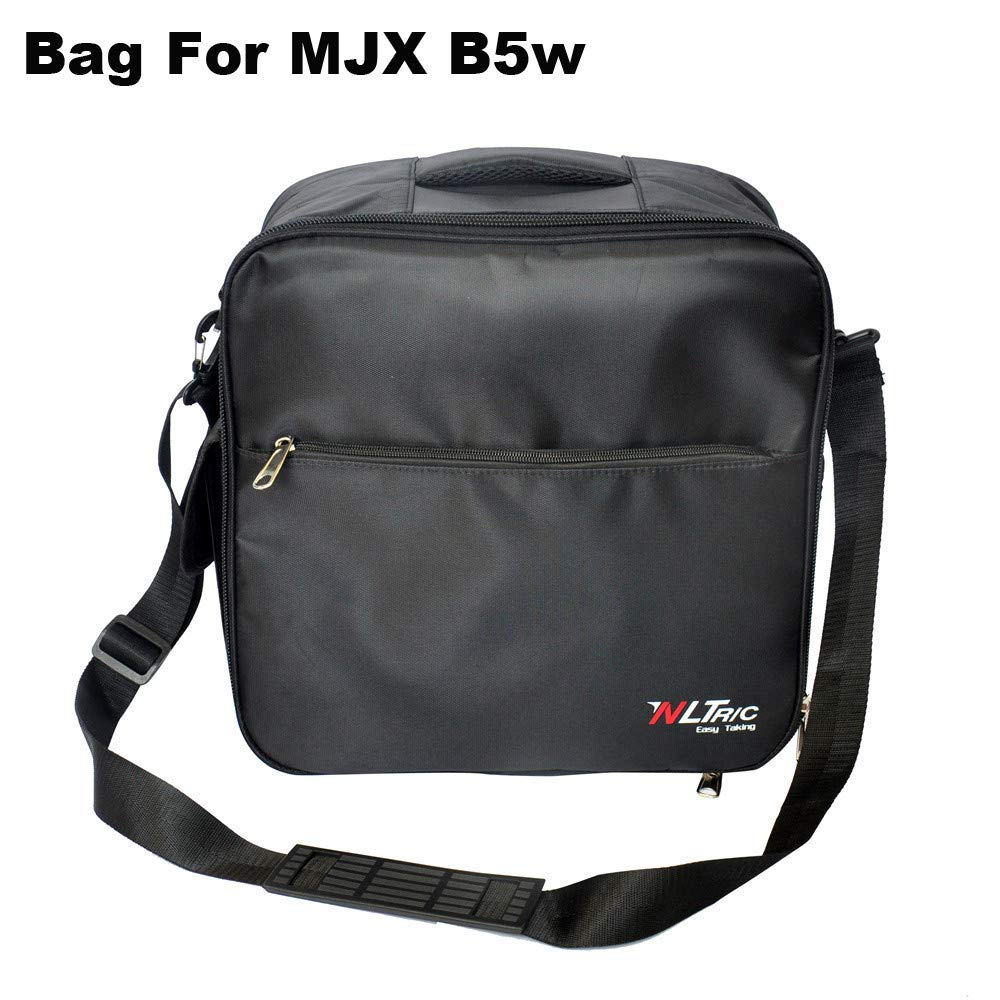 Gbell for MJX Bug B5W Shoulder Bag Portable, Shockproof Waterproof Durable Carrying Bag Protective Storage for MJX Bug B5W,36x35x19CM,Drone Accessories, (Black)