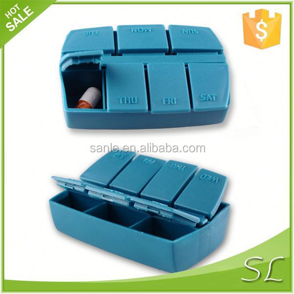 7 days wholesale easy open wholesale pill box