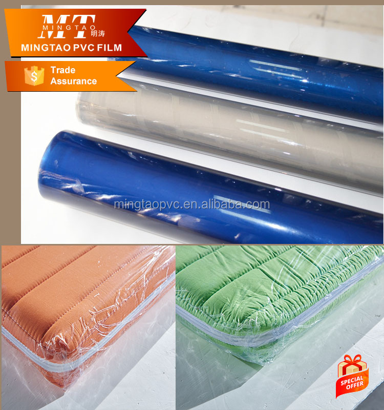 Ming Tao normal clear pvc film maker for macking bag about 28 kg/roll