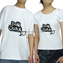 Custom Printed Love Couple T shirt Design Your Own T shirt Wholesale From China Manufacturer