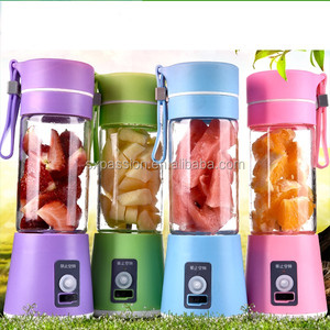 Electric USB Blender Personal Smoothie Mixer Fruit Mixing Machine with USB Charger