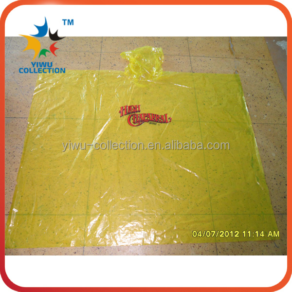 transparent raincoat fabric,yellow raincoat children