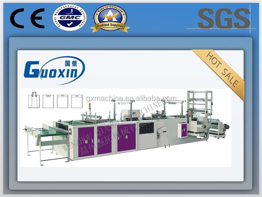 CE wholesale market plastic bag making machine production line