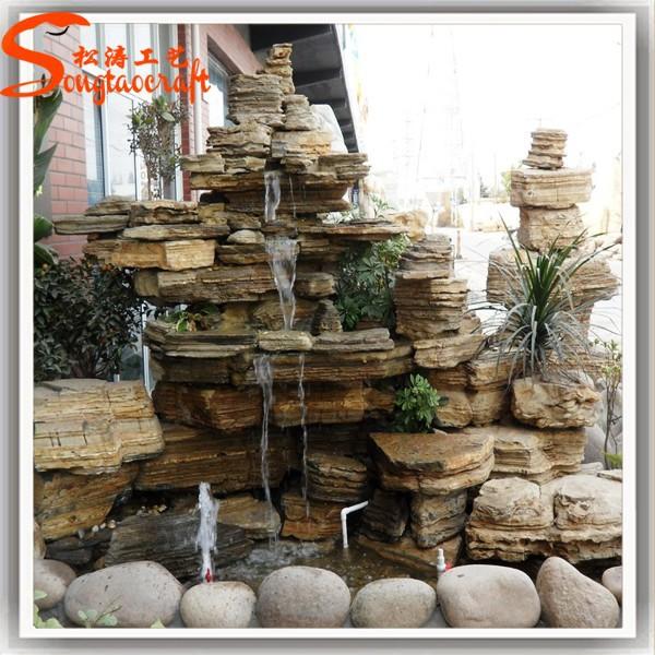 Progettazione di fontane da interno e cascate con pompa della piscina paesaggio mini piccolo - Fontane da casa ...