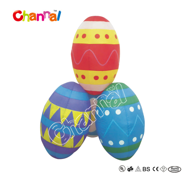 Easter Yard Inflatables Colorful 6ft Giant Inflatable Easter Egg