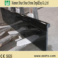 Solid Surface Laminated Bullnose Black Galaxy Granite Countertop