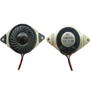 Free Samples 1 inch Speakers Parts 4 ohm 2.5 w Mini Mylar Speaker
