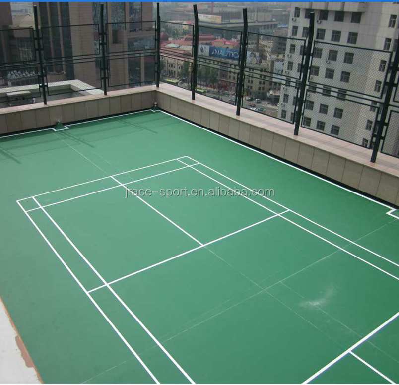 Multifonctionnel Tennis/badminton/basket/volley-ball Plancher