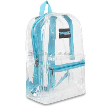 bdf2bb7187db Beegreen Cheap Pvc Plastic See Through Plastic Rucksack - Buy See ...
