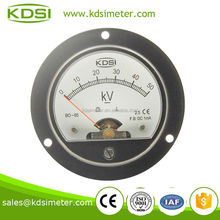 BO-65 DC1mA 50KV classical round type CE approved round analog voltmeter