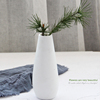 Modern European Style Elegant Small Unglazed Ceramic Bud Flower Vase