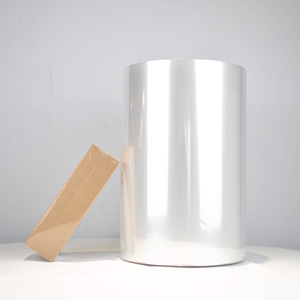 Opaque and transparent Centerfolded Shrink Rolls pof shrink film