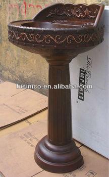 Attrayant Copper Pedestal Sink/Copper Bathroom Sink/Copper Sink/Handcraft Copper Sink  B270013