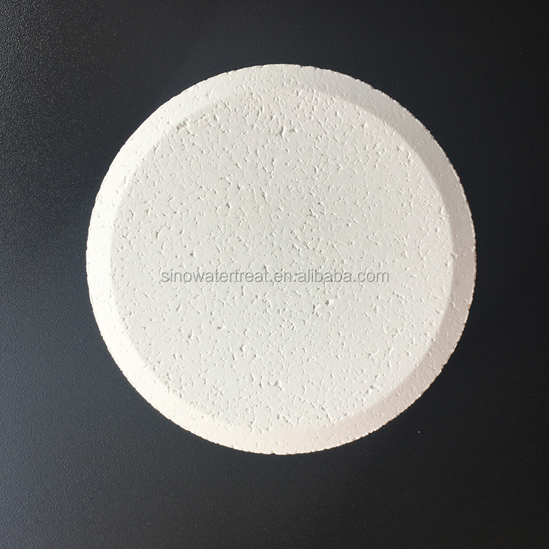 Waste water treatment plant bulk swimming pool chlorine tablets