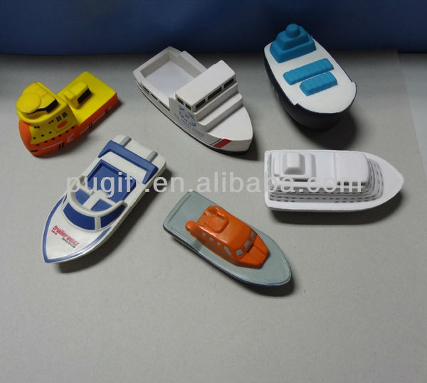 2017 New product promotion Stress pu Boat