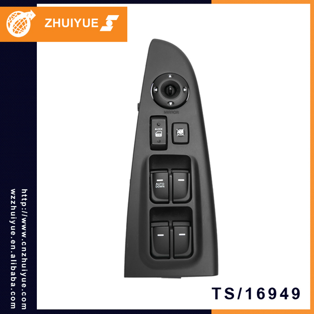 ZHUIYUE Most Demanded Products Electric Power Window Master Switch For ELANTRA