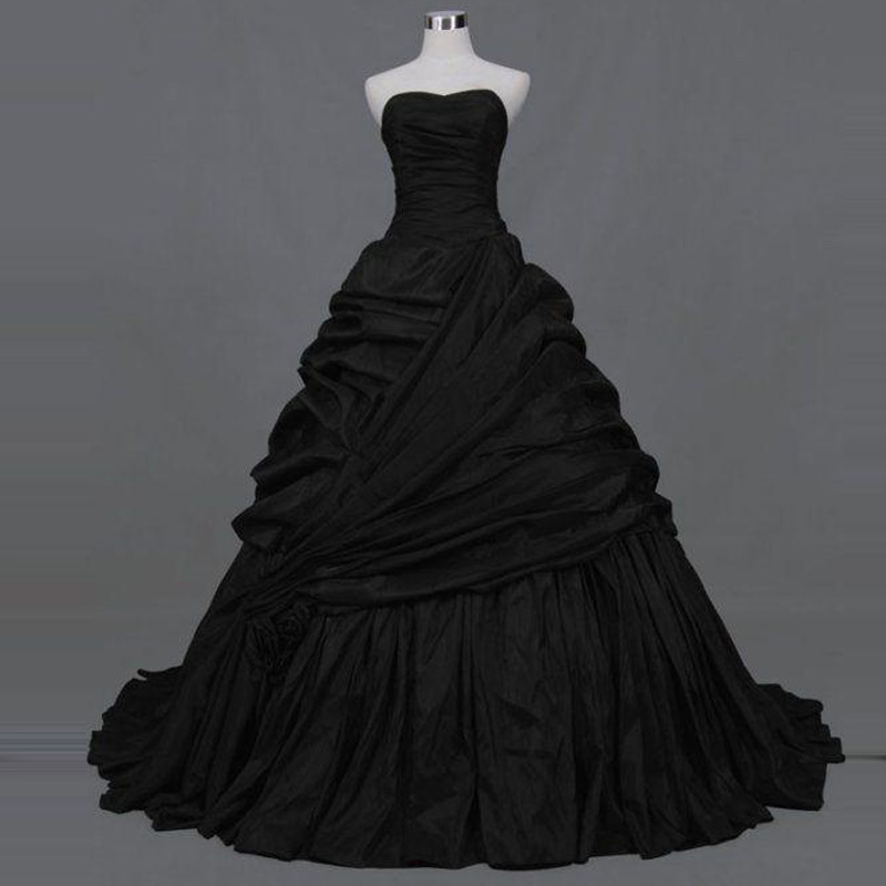 Vintage Black Lace Ball Gown Gothic Wedding Dresses Plus: Popular Gothic Ball Gowns-Buy Cheap Gothic Ball Gowns Lots