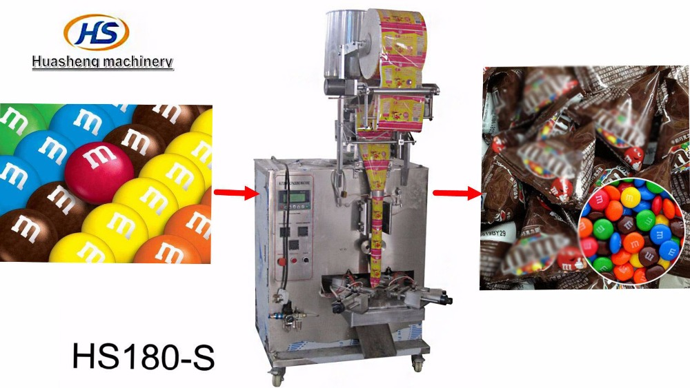 Triangle Pyramids shape plastic bag of chips automatic packing machine
