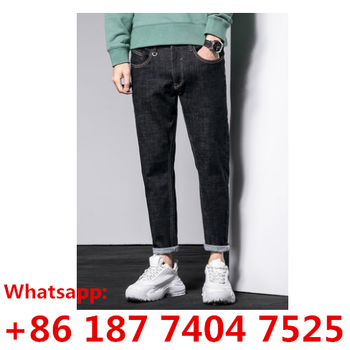 True brand a china Factory Wholesale men and women Jeans Distressed Denim 350 Pants