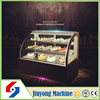 Big factory cake bread display cooler showcase with anti-fog function