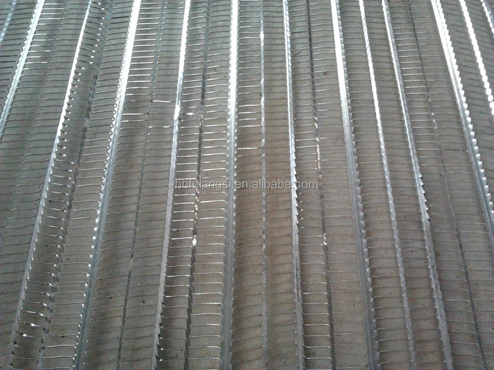 Hot Dip Galvanized Rib Lath Ceiling Plaster Mesh Rib Lath