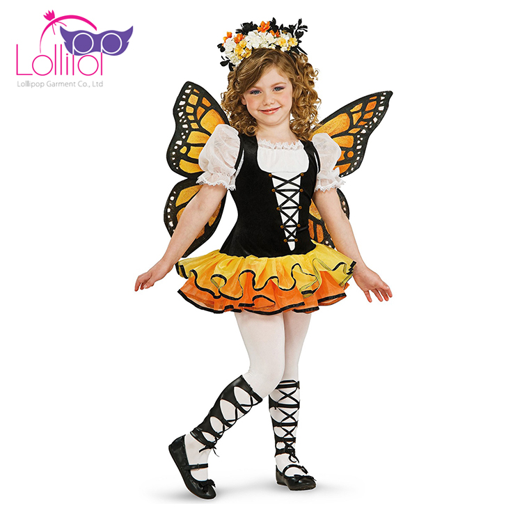 Halloween carnival girls butterfly cosplay dance costume