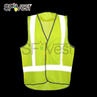AS/NZSchina safety manufacturers high visibility reflection vest D/N use equipment for men construction site protective clothing