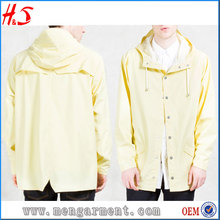 New Arrival Fashion PU Jacket Men With Stainless Steel Snap Button From Photo Wallpaper