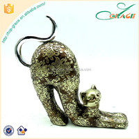 animal home table piece resin home decorative cat animal home decoration