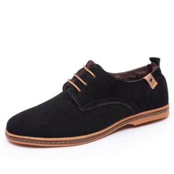 Custom Large size Suede Upper fashion Man Leather Shoe