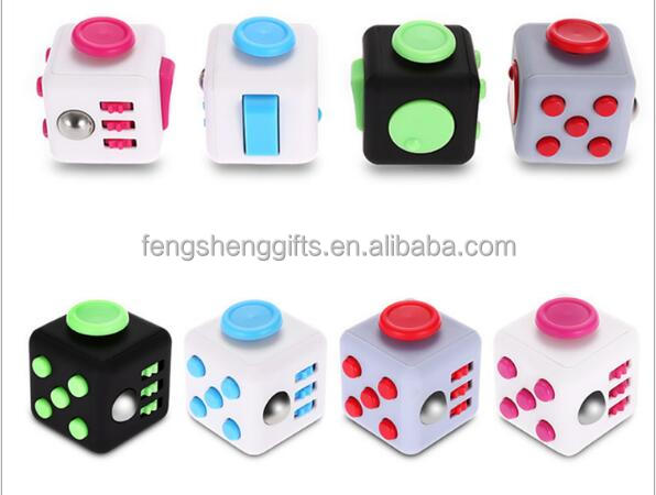 Multi Design Mini Fidget Cube Girl Boys Chrismtas Gifts Fidget Toys 11 Styles Finger Hand Cube Antistress Cubo