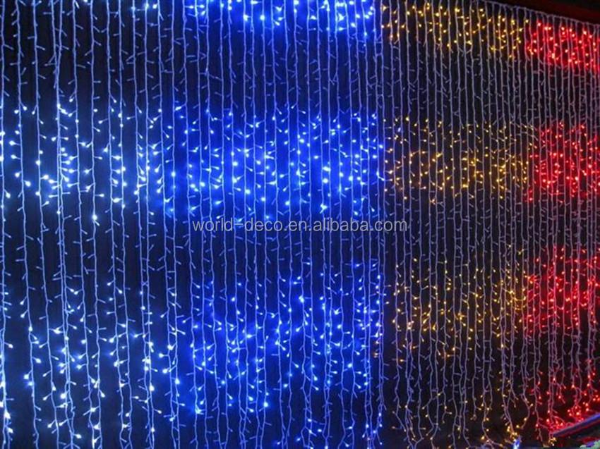 Rain Drop Curtain Lights / Waterfall Festival Light / Led Falling ...