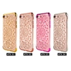 Luxury Electroplated Bumper Sunflower Diamond Back Cover For iPhone 7 Cell Phone Case