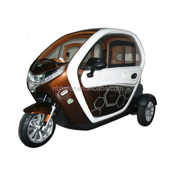 2017 hot sale three wheels electric tricycle with electric window