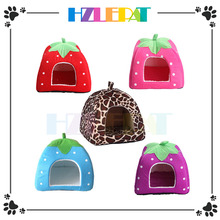 High quality cute dog bed pet bed strawberry