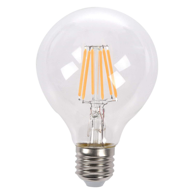 SODIAL(R) E27 4W Edison Retro Vintage Filament COB LED Bulb Candle Light Lamp