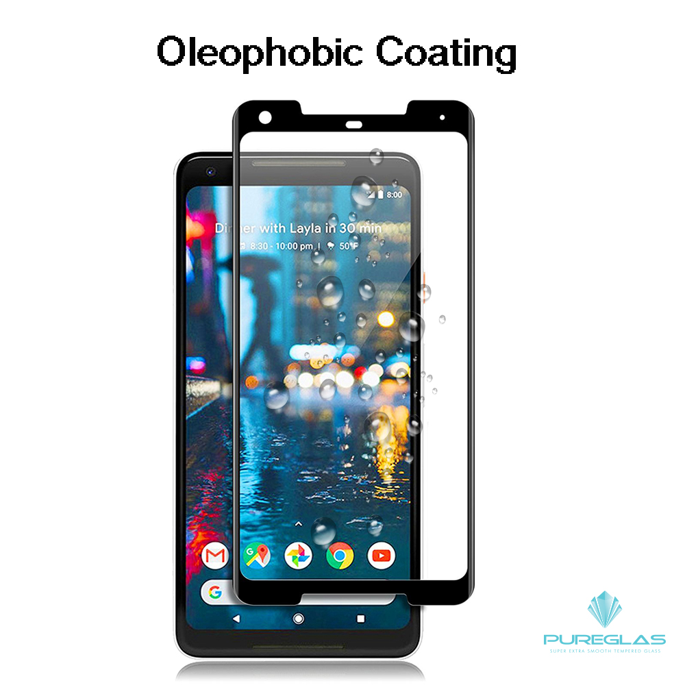For Google Pixel 2 XL Wholesale price custom packaging 3D edge to edge mobile phone screen protector