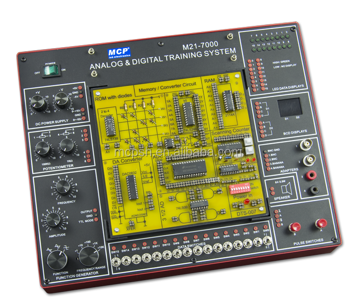 MCP DCL-7000 - DIGITAL CIRCUIT LABORATORY/educational training equipment/educational trainer/trainer