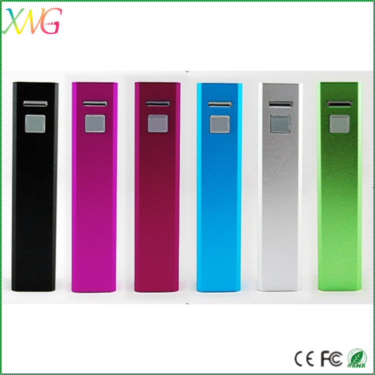 Made in China Heat Transfer Water Transfer mini slim power bank 2600