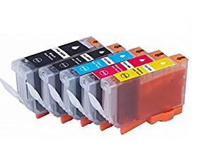 Compatible CLI-8 (5 color/set)/PGI-5BK/CLI-8BK/CLI-8C/CLI-8M/CLI-8Y print cartridge for Canon MP610/MP600R/MX850/MP600/MP610/MP800 printer