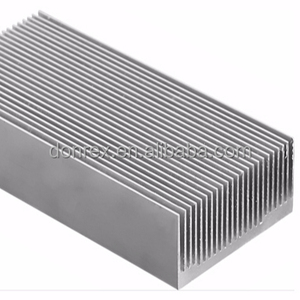 Extruded aluminum extrusion heatsink/radiator