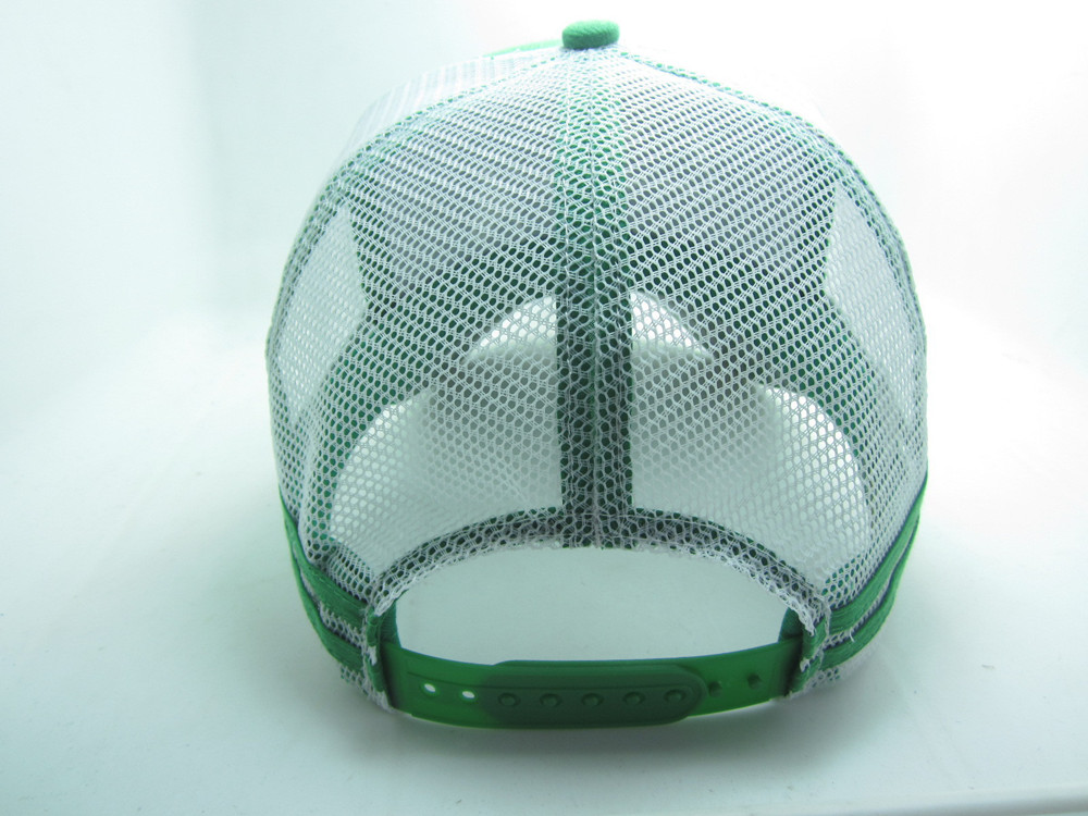 7d79e520 Green Acrylic Front White Neon Mesh Snapback Back 5 Panel Embroidery  Trucker Hats