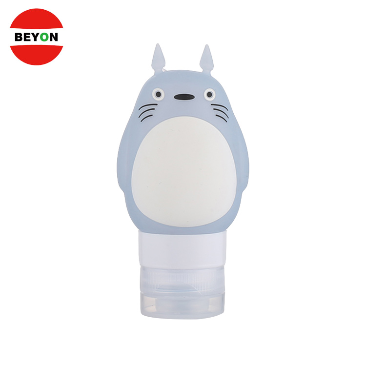 Cartoon Cosmetic Squeeze Silicone Travel Bottle Set